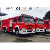 Buy cheap 6X4 4x2 336 Hp Power Howo Firefighter Truck With Foam Tank And Water Tank from wholesalers