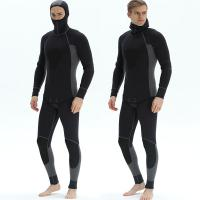 Buy cheap Full Body 5 mm Professional neoprene mens spearfishing Waterproof dive suit for swimming Windproof surfing wetsuit from wholesalers