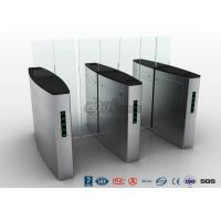 Buy cheap Building Access Control Waist Height Turnstiles Automatic With Polishing Surface from wholesalers