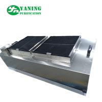 Buy cheap Stainless Steel Cleanroom Ffu , Ceiling Mounted Hepa Filter Unit With Double Fan from wholesalers