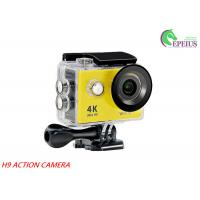 Buy cheap H9 WiFi Waterproof 30M 1080P HD Action Camera 2.0 LCD OV4689 170Degree Sports DV from wholesalers