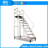 Buy cheap lightweigt safety step ladder with handrail from wholesalers