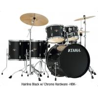Buy cheap TAMA Imperialstar 5-Piece Complete Drum Set with Meinl HCS Cymbals and 18 in. Bass Drum Hairline Black from wholesalers