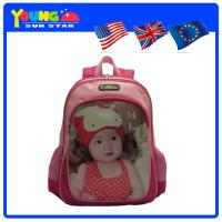 Buy cheap Pink color lovely children school bag from wholesalers