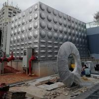 Buy cheap Healthy Drinking Welding Water Tank Precise Size Construction Site Use from wholesalers