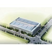 Environmental Prefabricated Steel Warehouse For Construction And Real Estate