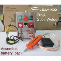 Buy cheap 709A Battery Spot Welding Soldering Station 60A Max Welding 0.3mm 110V 220V from wholesalers
