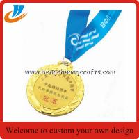 Buy cheap China stock metal blank medals, gold silver bronze blank race medals cheap custom from wholesalers