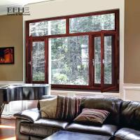 Buy cheap Sound Insulation Black Aluminum Casement Windows For Construction Office Buildings from wholesalers