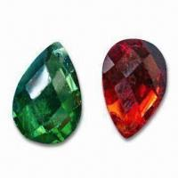Buy cheap Hot Fix Rhinestone with Man-made Diamond Material, Available in Various Designs product