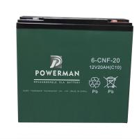 Buy cheap Powerman 12V 20Ah Lead Acid UPS Solar maintenance free storage battery  from chinese suppliers or manufacturers from wholesalers