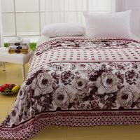 China 2018 Warm Soft Quilt Blanket Bedspread For Double Bed Machine Washable on sale