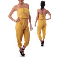 Buy cheap offer girl's apparel processing service, women's sexy tube top bodysuit/jumpsuit from wholesalers