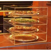 Buy cheap Acrylic Bakery Display Case , 4-Tier Plexiglass Pizza Display Stand product