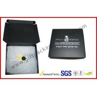 Buy cheap Black Big Corrugated Paper Box , Duplex Clothing Packaging Box from wholesalers