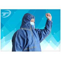 Buy cheap 20gsm -70gsm Food Processing Microporous painters disposable coveralls Non Woven Safety from wholesalers