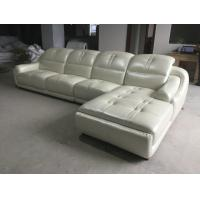 Buy cheap A849;  L shape modern leather sofa, modern home furniture,office furniture, living room furniture, China sofa from wholesalers