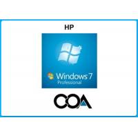 Buy cheap Microsoft COA Label Windows 7 Professional COA Sticker With OEM Key Online Activate from wholesalers