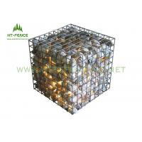 Buy cheap Corrosion Resistance Welded Gabion Rock Wall Cages For Decoration Wall / Flood Control from wholesalers