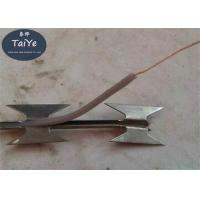 Buy cheap Stable Alarm Razor Barbed Wire Fence 2A Electricity Anti Blocking from wholesalers