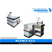 Buy cheap Multi Funtion Retail Store Cash Counter Reception Desk With Stainless Steel Countertops from wholesalers