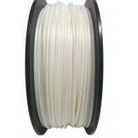 Buy cheap Pearl White 1.75mm 2.85mm PLA 3d Printer Pen Filament 2.2 lbs 1 kg Spool from wholesalers