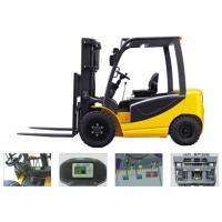 Buy cheap Digital Control Battery Operated Forklift , Narrow Aisle Forklift With Steering from wholesalers