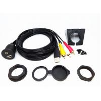 Buy cheap 6 Ft USB Extension Data Cable Audio Video Flush Mount Set For Car Dashboard from wholesalers