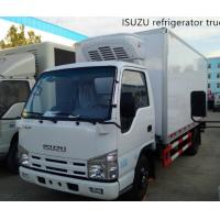 Buy cheap Customized ISUZU Brand 4*2 LHD diesel refrigerated van truck for sale, new brand ISUZU freezed van box truck for sale product