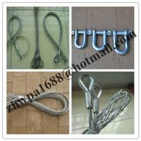 Buy cheap Cable stockings,Heavy Duty Split Grips,Standard Fiber Optic Pulling Grips product