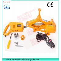 Buy cheap automatic emergency tools 1-10 tons electric car jack with electric impact wrench from wholesalers