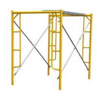 Buy cheap Temporary Frame Scaffolding System Tubular Steel For Building Construction from wholesalers