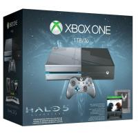 Buy cheap NEW Microsoft Xbox One 1TB Limited Edition Console Controller Halo 5 Guardians Bundle from wholesalers