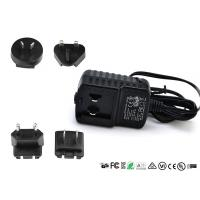 Buy cheap 5V 6V 2A Interchangeable Plug Power Adapter CE FCC UL ROHS For Speaker product