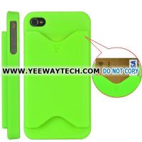 Buy cheap Credit Card Matte Hard Case Cover for iPhone 4 / 4S (Green) from wholesalers