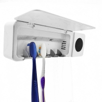Buy cheap USB Charging 1800mAh 3.7V 200g Wall Mounted Toothbrush Holder from wholesalers