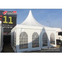 Buy cheap High Peak Pagoda Festival Party Tent 5X5M PVC Fabric Cover Elegant Design product