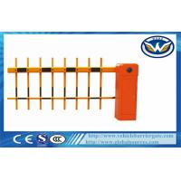 Buy cheap Remote Control Toll Barrier Gate Retractable Fence Gate For Parking Access from wholesalers