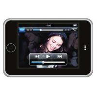 Buy cheap 3.5 inch TFT Screen pixel 640 * 480 black red blue silver PSP MP5 player 1080mA Li-ion from wholesalers