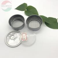 Buy cheap Mini Weed Tin Plate Cans Diameter 65mm By Height 30mm 2 Piece Type from wholesalers