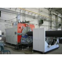 Buy cheap PLC Control Plastic Production Line , HDPE Pipe Extruding Machine product