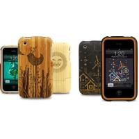 Buy cheap engraving pattern carbonization bamboo case, for iphone 6 plus bamboo phone case from wholesalers