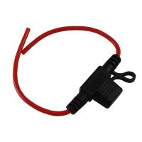 Buy cheap 15A 16AWG Wire In-line Car Automotive Mini Blade Fuse Holder Fuseholder +Fuse from wholesalers