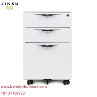 Buy cheap Pedestal file cabinet with cushion seat H600XW390XD500MM USA standard file folder from wholesalers