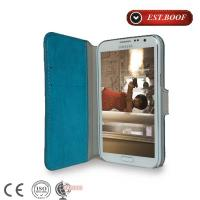 Buy cheap Blue Leather Samsung Galaxy Phone Cases Shock Resistant For Samsung Galaxy s4 from wholesalers