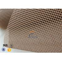Buy cheap 600g PTFE Coated Glass Fibre Fabric Mesh Fabric Conveyor Belt 4x4 from wholesalers