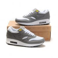 Buy cheap Fashion shoes Nike Air Max 87 Men Blue Wolf Grey White Shoes from wholesalers