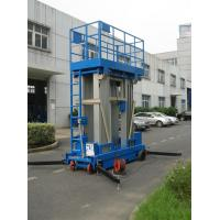 Buy cheap Stable Performance Aerial Lift Platform , 6 Meter Four Mast Hydraulic Cargo Lift from wholesalers