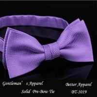 Buy cheap 2014 Fashion Men's Polyester solid Bow Tie from wholesalers