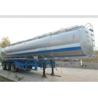 Buy cheap SS316 Beer Juice Liquid Tank Trailers High Loading Capacity Leaf Spring Suspension, from wholesalers